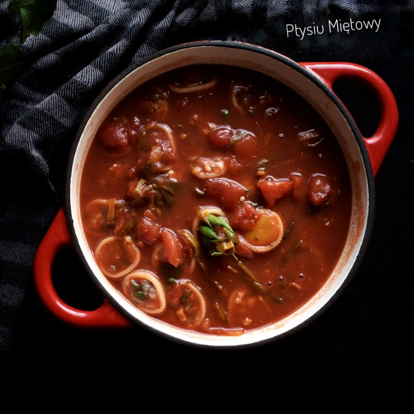 p=makaron, pasta, obiad, ptysiu mietowy