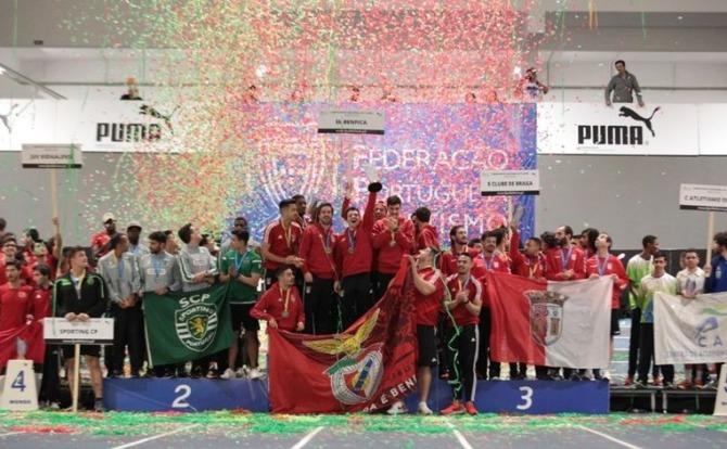 Blogs Benfica Tricampeão nacional de atletismo pista coberta