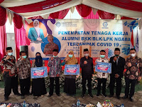 Bangkitkan perekonomian lokal,Kemenaker beri bantuan modal Usaha pengusaha muda di BLK Komunitas Ngabar,Siman