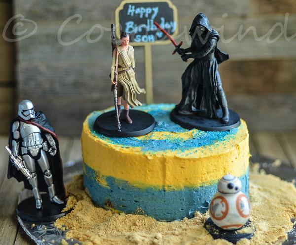 6 inch Chocolate Cake and Ermine Buttercream Recipe