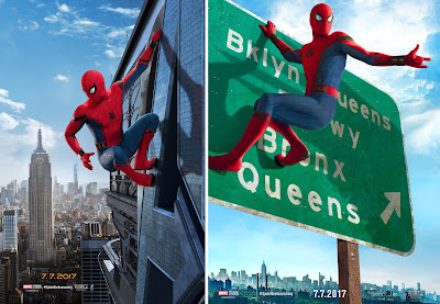 Spider-Man: Homecoming Teaser Theatrical One Sheet Movie Posters