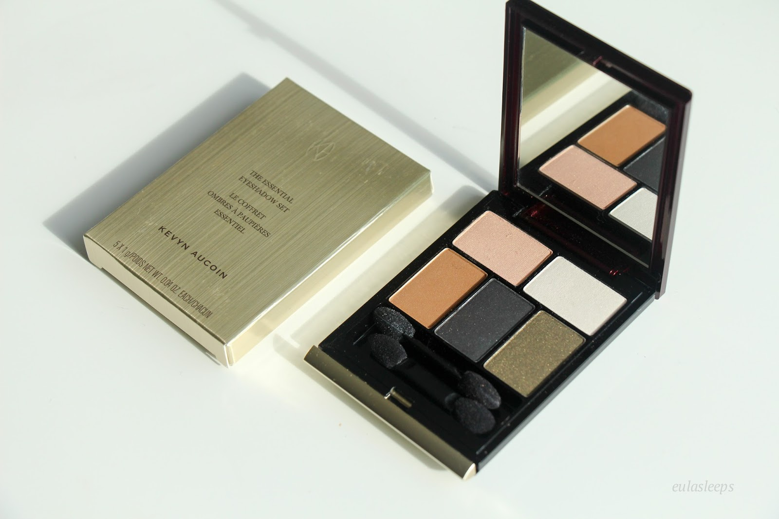 Eula Sleeps Kevyn Aucoin The Essential Eyeshadow Set 4 1 Eye Shadow Has To Be My Favorite Makeup Product Its An Easy Way Change Your Entire Look Whether You Want Appear Younger Fresher Darker