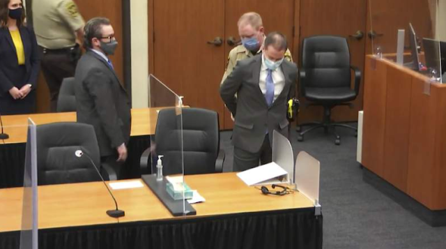 George Floyd's death: Jury finds officer Derek Chauvin guilty of all chargers in George Floyd's murder (Video)