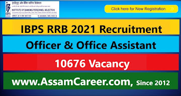 IBPS RRB 2021 Recruitment –  10676 Officer & Office Assistant Vacancy