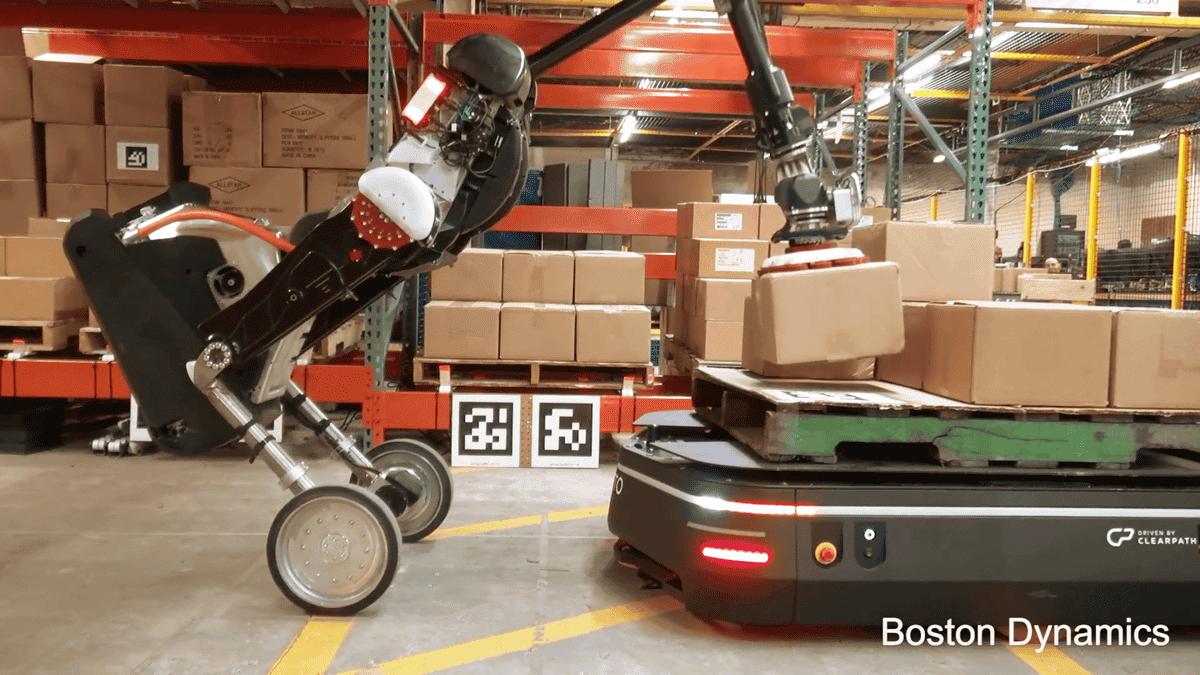 Boston Dynamics mostra i progressi del suo robot magazziniere | Video