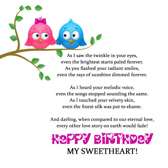 Birthday poems for husband