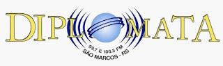 Ouvir a Rádio Diplomata FM 100,3 de São Marcos RS Ao Vivo e Online