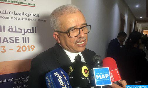 السيد دردوري يطلع على سير مشاريع المبادرة الوطنية للتنمية البشرية بشيشاوة