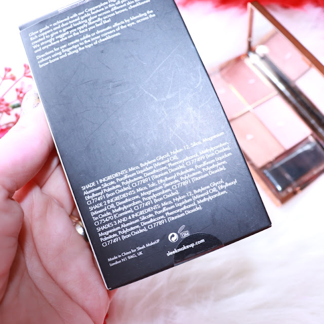 sleek makeup highlighting palette copperplate aydınlatıcı paleti incelemesi içerik