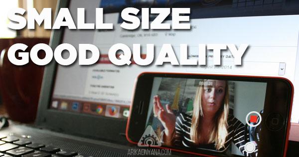 Cara Memperkecil Ukuran Rekaman Video di iPhone dan iPad
