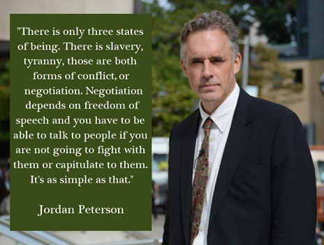 Jordan Peterson quotes three states of beings