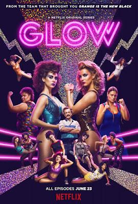 GLOW - Poster de la serie de netflix
