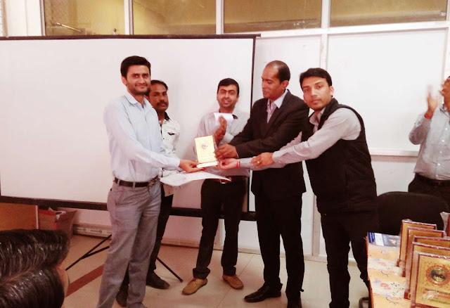 The Jayhooo Infotech Awarded in Jalore city