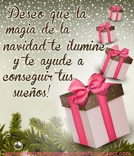 Frases De Navidad: Deseo Que La Magia De La Navidad Te Ilumine