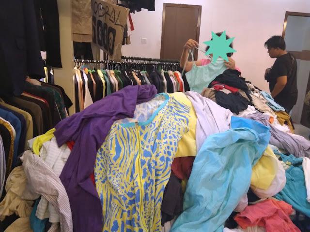 tips belanja baju bekas di pasar senen blok 3