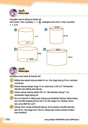 Kunci Jawaban Matematika Kurikulum 2013 Kelas 5
