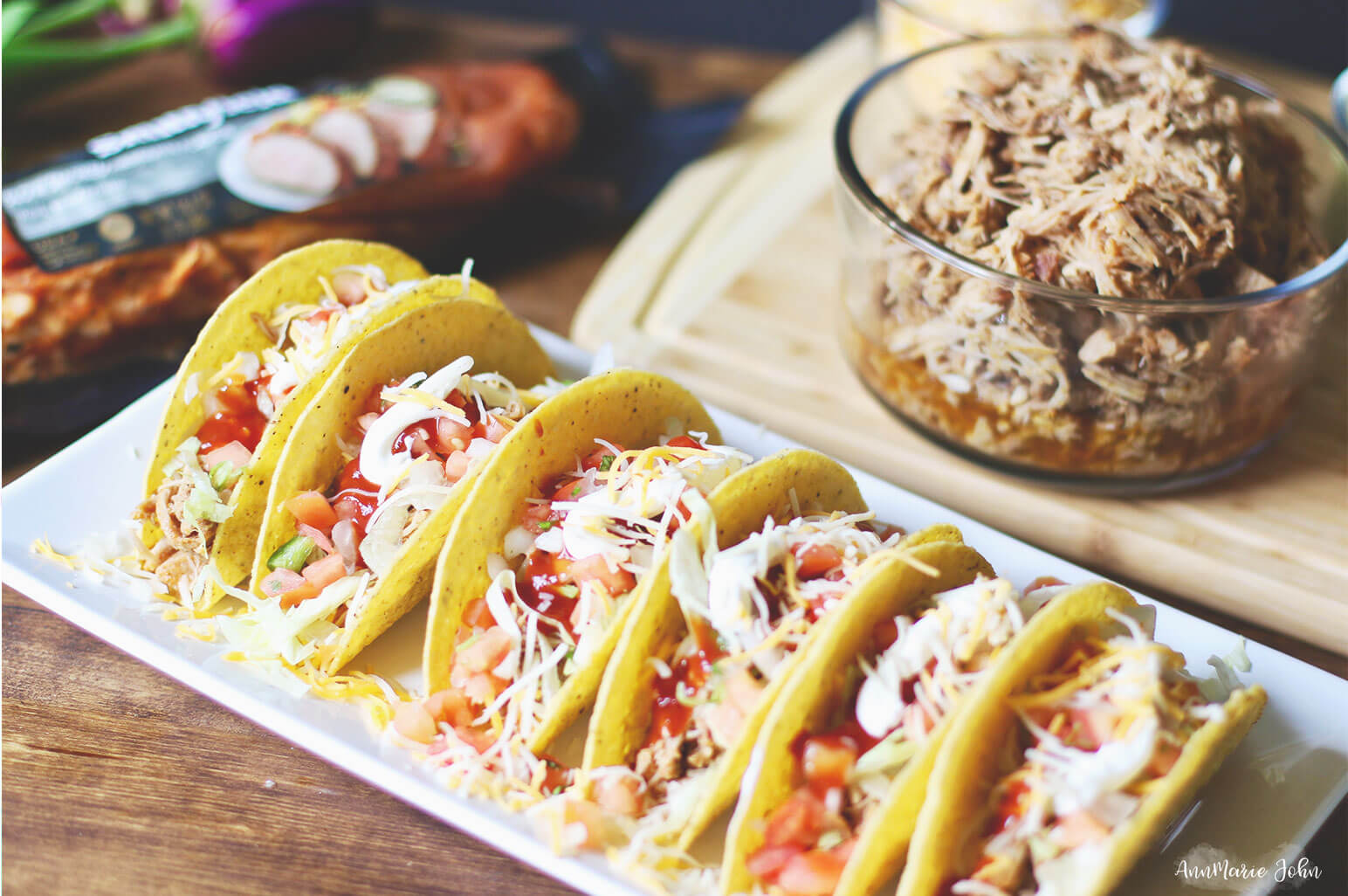 Quick and Easy Shredded Pork Tacos ~ #RealFlavorRealFast