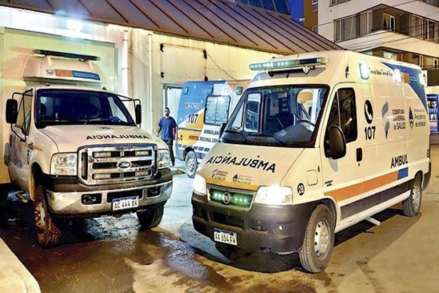 encontraron hombre fallecido ushuaia ambulancia hospital