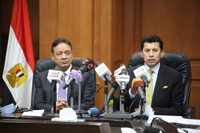 """وزير الرياضة يبحث آليات مبادرة """"مصر أولاً لا للتعصب"""" مع رئيس الأعلى للإعلام"""