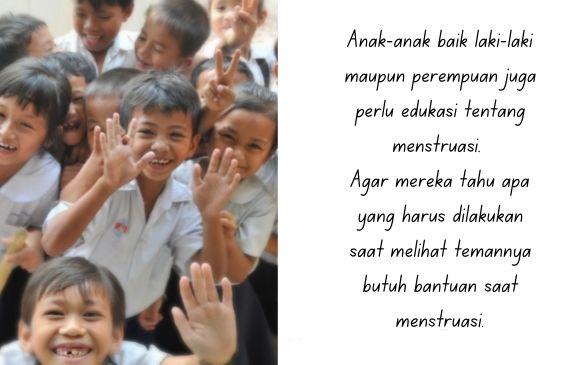 cara menjelaskan tentang menstruasi pada anak laki-laki