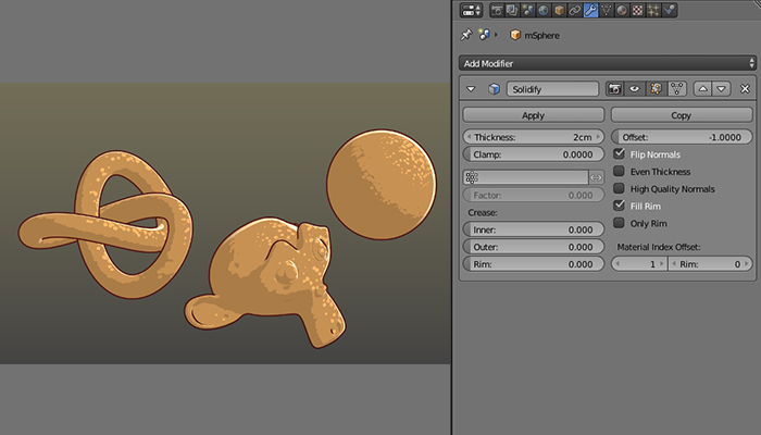 Blender3D Texture Toon Shader