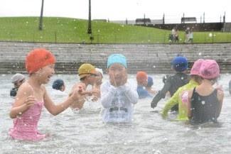 田ノ浦ビーチ海水浴場海開き