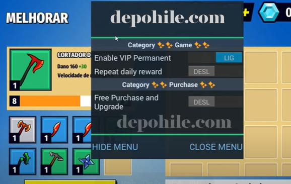 AXES io v2.3.35 Oyunu Kalıcı VIP ve Yükseltme Hileli Apk 2020