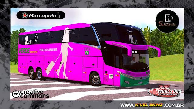 PARADISO G7 1600 LD - VIAÇÃO VERDE TRANSPORTES (FICTÍCIA)
