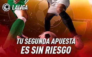 sportium Promoción para tu segunda apuesta a LaLiga hasta 16 febrero 2020