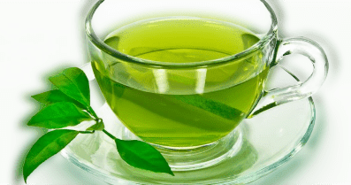 It is used by many in the treatment of blackheads because of its properties, in addition to antioxidants, minerals, and vitamins that benefit the skin.  ♦ Mix 1 teaspoon of dried green tea leaves with a little water until you get a firm mixture like a paste.  ♦ Apply the paste on the area where the black dots appear gently and leave it for 2-3 minutes.  ♦ Wash the dough with lukewarm water.
