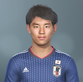 PES 2019 Faces Takefusa Kubo by Jarray & The White Demon