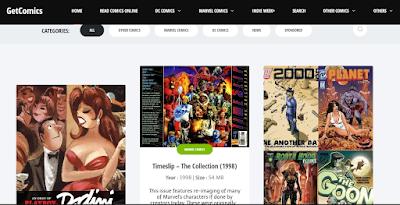 Enorme colección de cómics en descarga directa