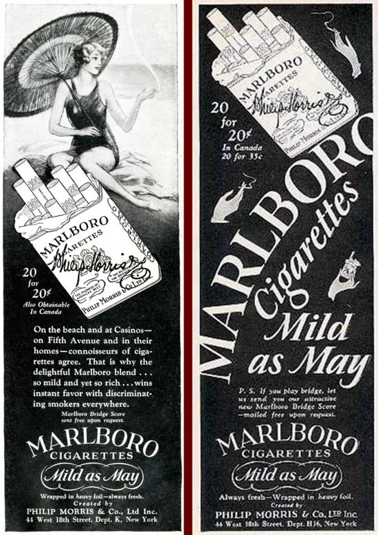 Marlboro ad 1927 - C