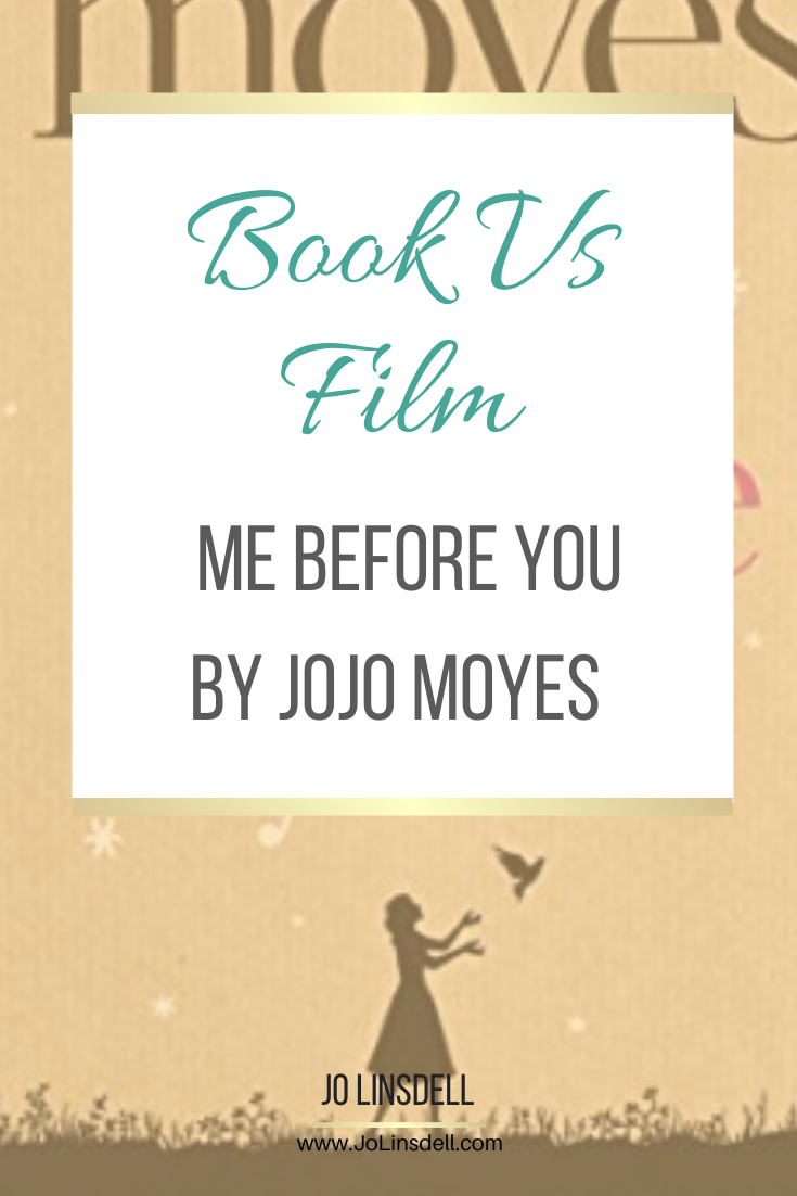 Book vs Film: Me Before You by Jojo Moyes