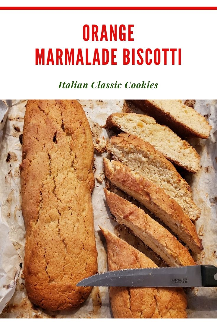 A classic biscotti Italian cookie pin for later