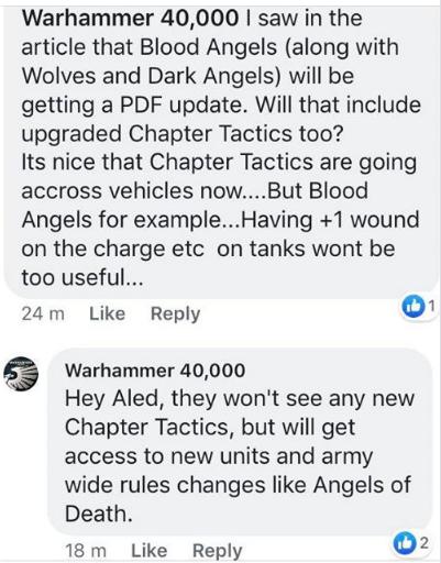 Facebook Warhammer 40,000