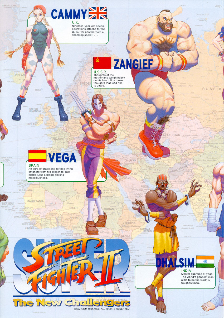 STRENGTH FIGHTER™: Play Street Fighter II online