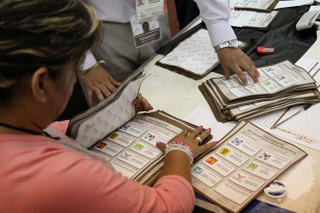 El recuento de votos de 556 casillas en el Edomex no modificó el resultado electoral. EL PRI GANO