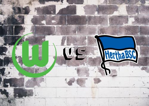 Wolfsburg vs Hertha BSC  Resumen