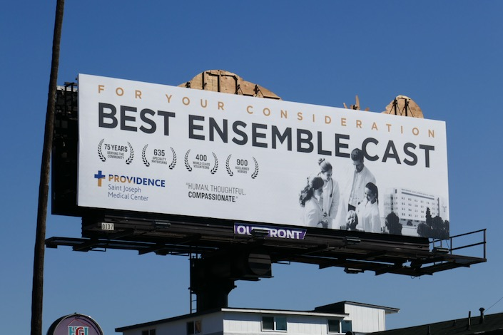 For consideration Best ensemble cast Providence billboard
