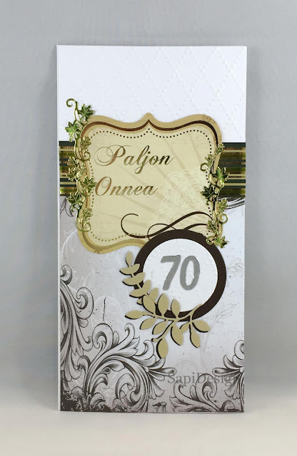 hbd card for a man handmade die cutting J.K.Primeco SapiDesign