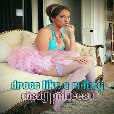Dress like a princess - Sissy TG Caption