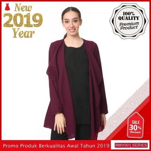 RMY008J31 Jeje Hijab Double Blazer Keren Trendy BMGShop