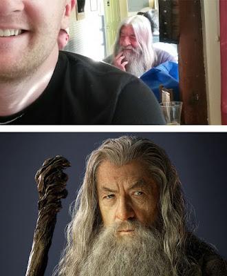 Gandalf del señor de los anillos