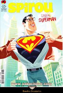 Super numéro, Spirou, Spécial superman, numéro 4068, année 2016