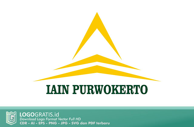 Logo IAIN Purwokerto Vector Terbaru CorelDraw Ilustrator PNG EPS