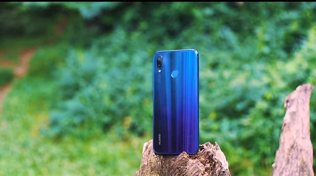 The Color Shifting feature on the Huawei Nova 3i