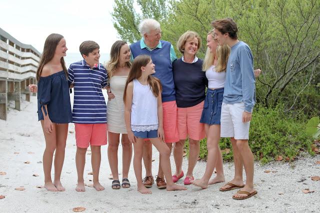 multi generation photo on sanibel island
