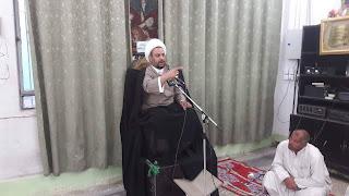 مكتب الشهيد الصدر في وسط العراق يقيم محاضرة دينية بمناسبة المبعث النبوي