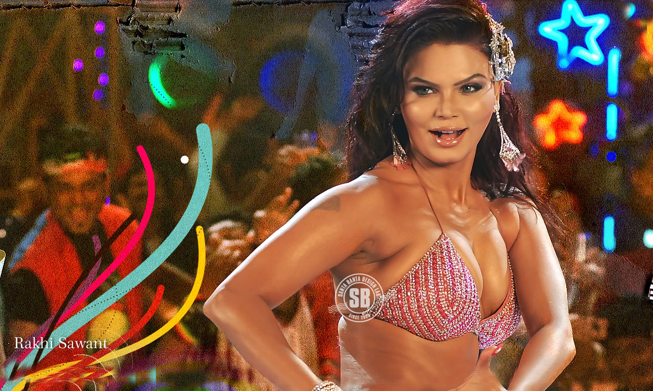Hot Rakhi Sawant Hot  Sexy In Bikini Pics-1496
